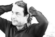 El poeta y escritor David Eloy Rodríguez miembro del colectivo La Palabra Itinerante. Fuente: Pepe Calvo.