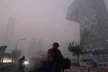 Polución en Pekín (China). Imagen: stevenzhang1221. Fuente: Flickr.