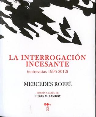 """Mercedes Roffé presentó en España """"La interrogación incesante"""""""