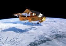 El satélite CryoSat, explorando los hielos polares. Fuente: ESA/AOES Medialab.