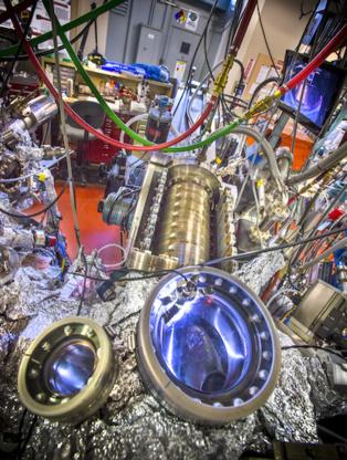 Línea de luz 10.0.1 del Berkeley Lab. Imagen: Roy Kaltschmidt. Fuente: Berkeley Lab.