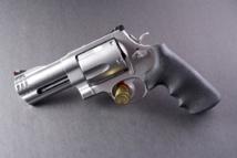 Una pistola Smith & Wesson .500 Magnum. Imagen: szuppo. Fuente: Flickr.