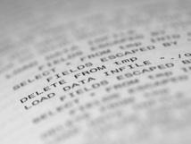 El procesamiento de las palabras a veces produce fallos. Imagen: Dodo. Fuente: Wikimedia Commons.