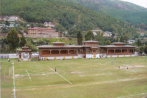 Estadio Nacional en estilo butanés. Foto: Goyanes/T21