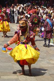 Danza de Drametse, Patrimonio de la Humanidad. Foto: Goyanes/T21