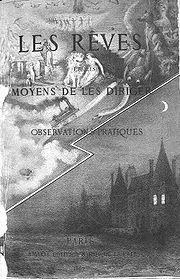 """Portada de """"Los sueños y cómo dirigirlos"""" de Léon d'Hervey de Saint-Denys. Fuente: Wikipedia."""