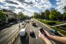 Cualquier usuario de 'smartphone' podrá colaborar en un mapa de contaminación. Imagen: Patrick Langer. Fuente: KIT.