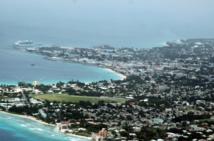 Vista aérea de Bridgetown, la capital de Barbados. Fuente: Wikipedia.