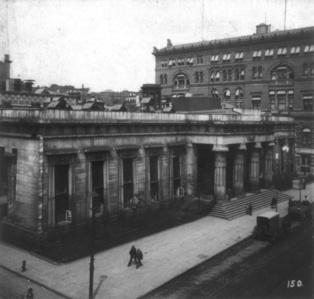 The Tombs, centro penitenciario de Lower Manhattan, donde se encierra a Bartleby. Fuente: Wikipedia.