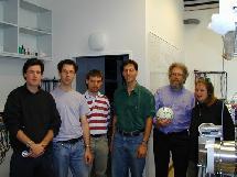 El equipo investigador: el balón es la clave