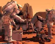 Humanos en Marte. NASA