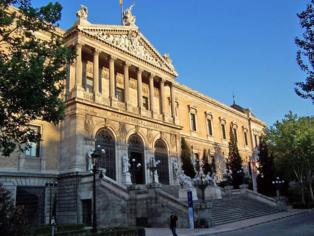 Biblioteca Nacional de España, en Madrid. Fuente: Wikipedia.