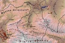 Localización de la Hoya de Baza. Fuente: Wikipedia.