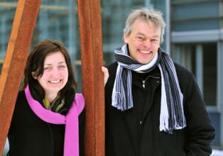 May-Britt y Edvard Moser. Fuente: Instituto Kavli.