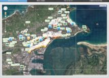 Los 12.000 dispositivos de EAR-IT colocados en Santander. Fuente: maps.smartsantander.eu