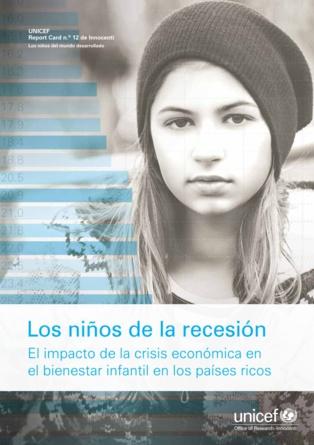 """Portada del informe """"Report Card 12"""". Fuente: UNICEF."""