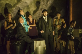 """Momento de la representación de """"El Misántropo"""", de Miguel del Arco. Fuente: Teatro Alhambra de Granada."""