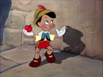 Fotograma de la película Pinocho, de 1940. Fuente: Wikipedia.