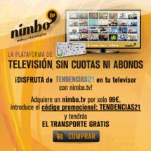Clickando sobre la imagen puedes adquirir el Kit Nimbo y acceder a T21 desde tu televisor