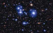 El cúmulo estelar Messier 47. Fuente: ESO.