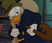 El tío Gilito, el personaje de los dibujos animados de Disney que era tan rico como infeliz. Fuente: disney.wikia.com.