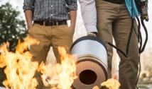 Prueba con el extintor. Fuente: GMU.