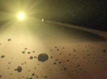 Los asteroides se formaron capturando cóndrulos mediante la fuerza gravitatoria. Fuente: NASA/JPL-Caltech.