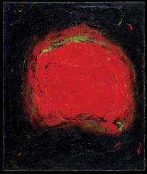 El cuadro 'Vision', de Carol Steen, que representa un 'fotismo' (alucinación visual) sentido durante la acupuntura. Fuente: Wikipedia.