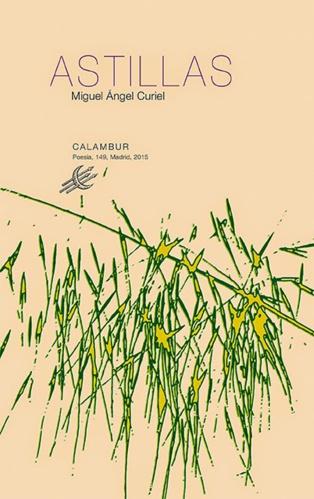 Esquirlas de un poeta: 'Astillas', de Miguel Ángel Curiel