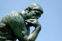 'El pensador', de Rodin. Imagen: Brian Hillegas. Fuente: Flickr.