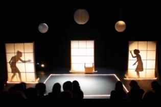 """Momento de la representación de """"La excursión"""", en el Teatro Alfil de Madrid (junio de 2015). Fuente: Teatro Cualquiera."""