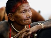 Mujer Xavante de Brasil. Imagen: Agência Brasil. Fuente: Harvard Medical School.