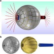 Modelo 3D del agujero | Jordi Prat-Camps / UAB