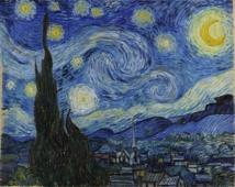 'La noche estrellada', de Van Gogh, en el Museo de Arte Moderno de Nueva York. Fuente: Wikipedia.