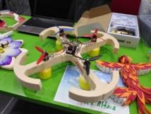Uno de los drones diseñados en La Feria Aérea 2014. Fuente: UMH.