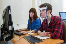 Experimento de seguimiento ocular. Fuente: Universidad Estatal de Tomsk.