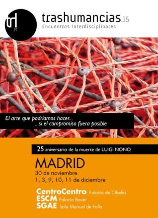 Madrid acoge el ciclo de actividades interdisciplinares 'Trashumancias'