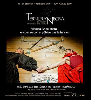 Cartel de la obra. Fuente: www.ternuranegra.blogspot.com.