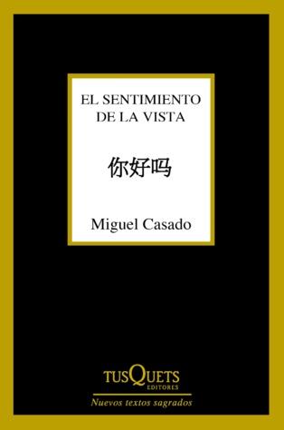 """El cuerpo y su aguda atención: """"El sentimiento de la vista"""", de Miguel Casado"""