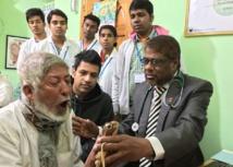 Las pruebas clínicas en la India y Bangladesh se hicieron con SpiroSmart. Fuente: UW