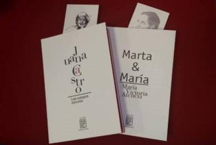 Portadas de los dos primeros libros de la Colección Genialogías. Fuente: Asociación Genialogías.