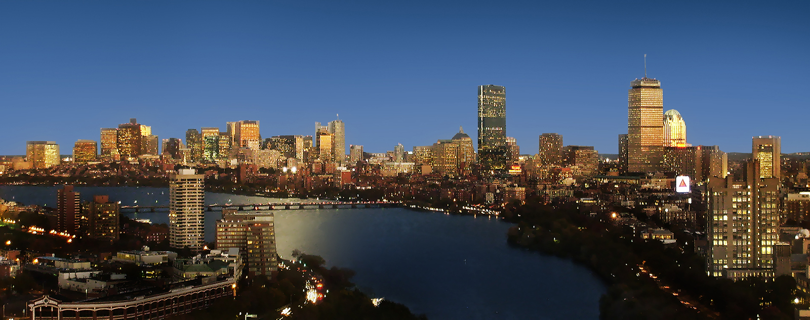Visión panorámica de Boston. Imagen: Henry Han. Fuente: Wikipedia.