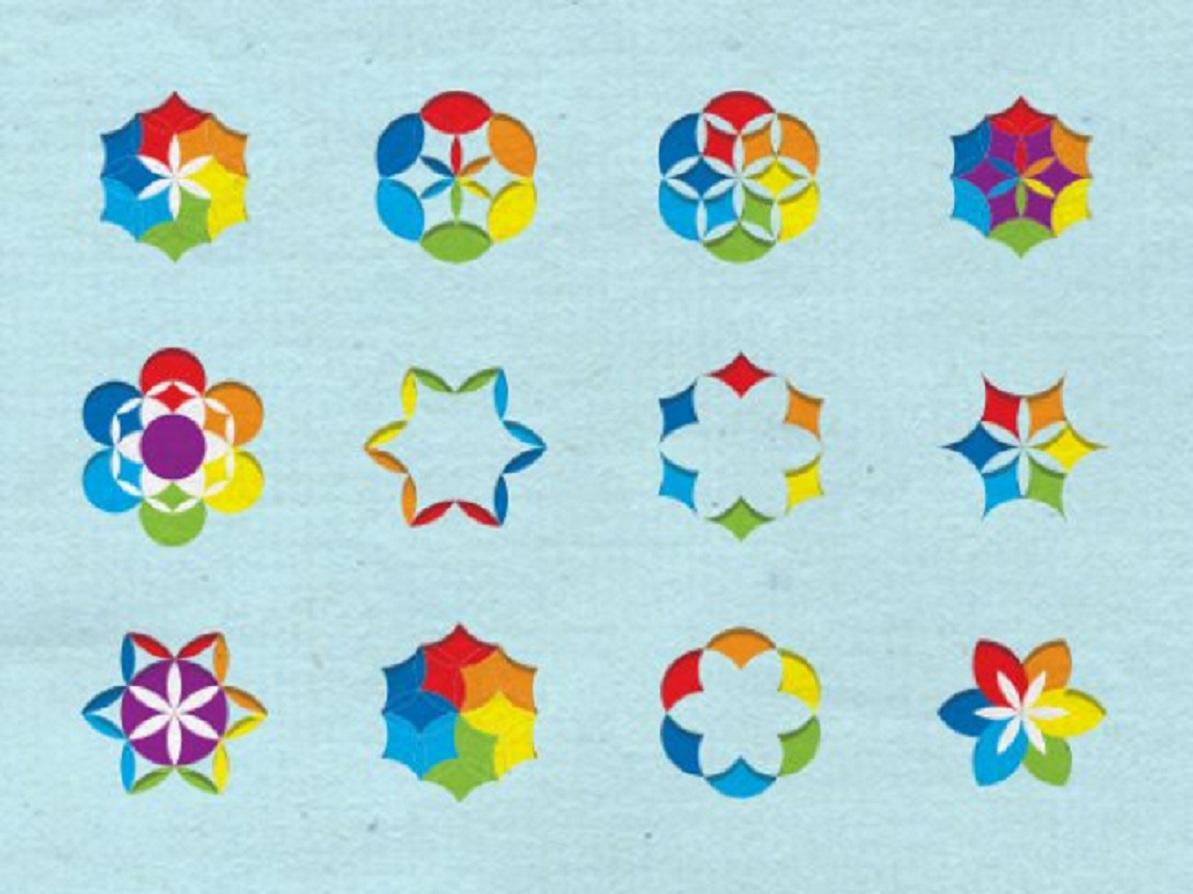 Interpretación artística de la diversidad molecular. Fuente:  EMBL-EBI.