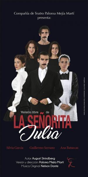 """Un espectáculo redondo, maravillosamente teatral: """"La señorita Julia"""""""