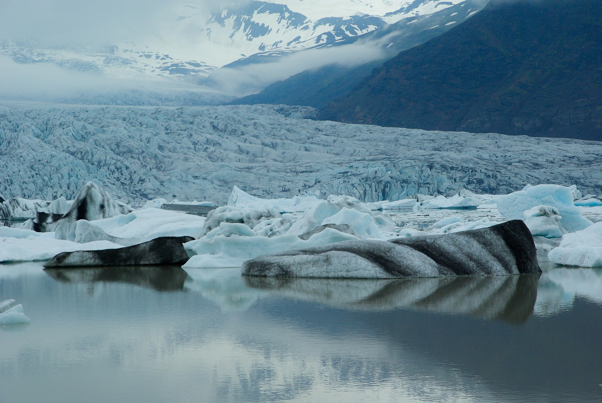 Hielo ártico. Foto: jackmac34.