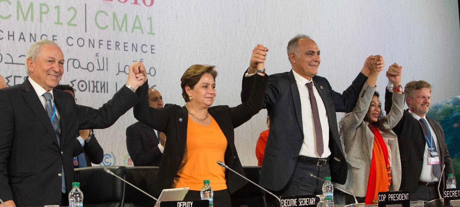 Momento de la conferencia de Marrakech. Foto: COP22