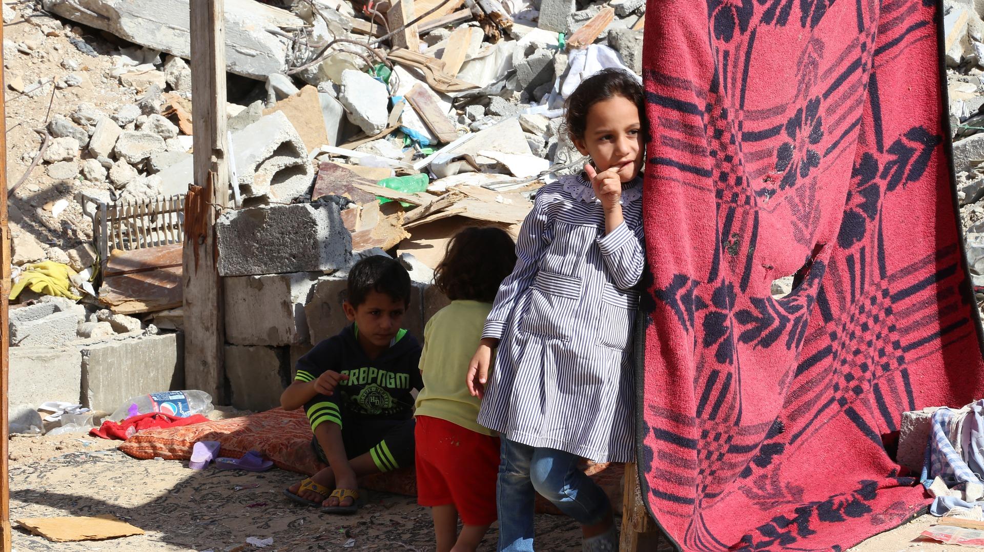 Franja de gaza palestina en 2015. Foto: badwanart0