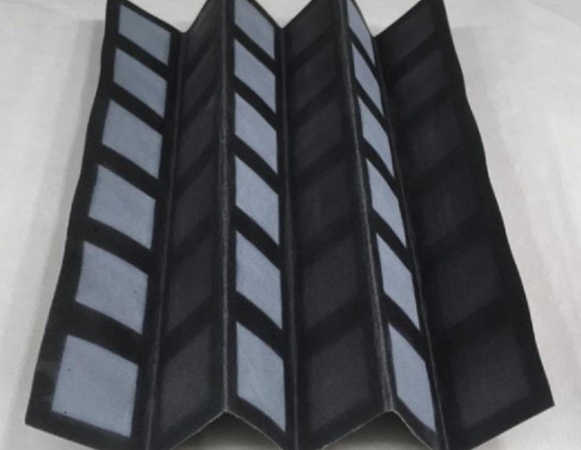 Los científicos han creado una batería alimentada con bacterias en una sola hoja de papel para suministrar energía a la electrónica desechable. Imagen: Seokheun. Fuente: Universidad Binghamton.