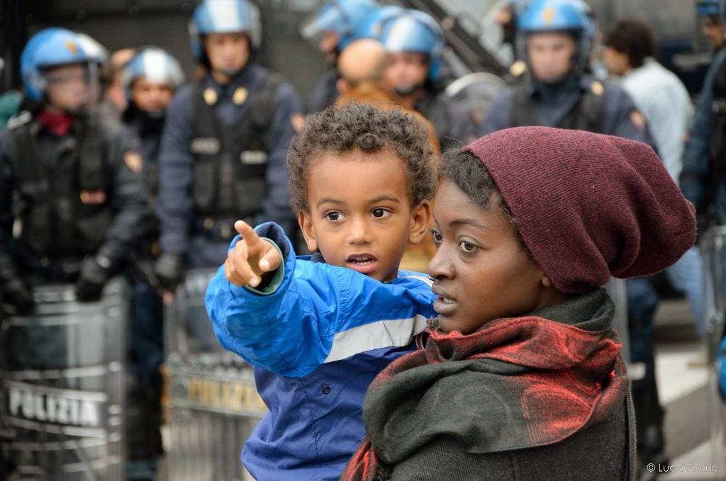 No racism. Foto: Luca Perino