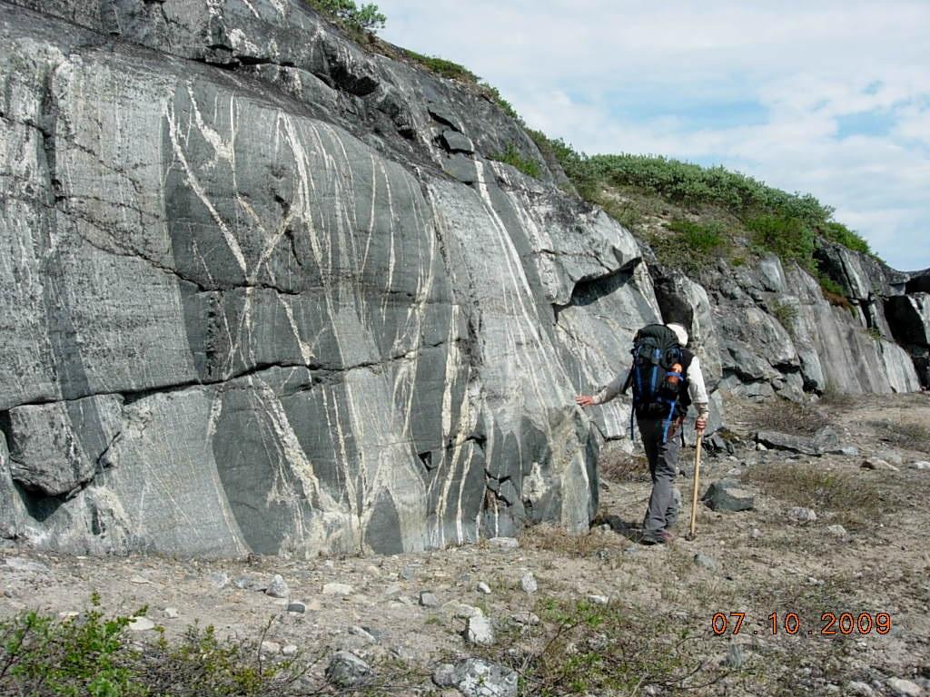 Rocas de Canadá.  Credit: Rick Carlson.